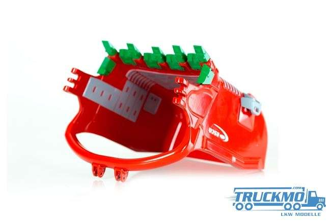 Drake ESCO Schleppschaufel (dragline bucket) rot