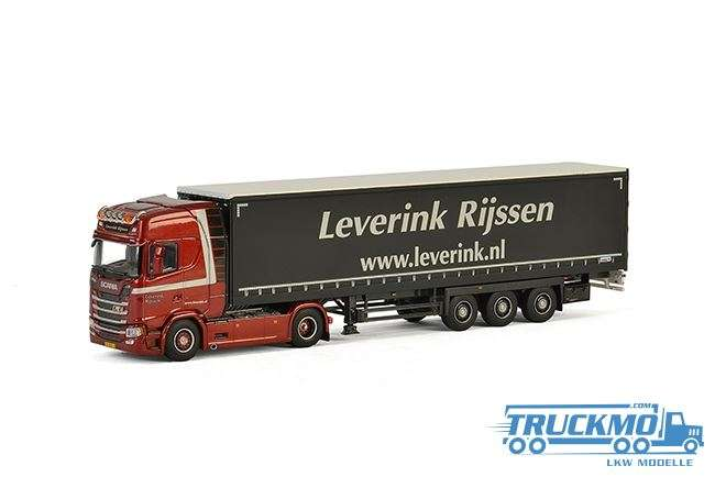 WSI Leverink Scania S Highline CS20H Planenauflieger 01-2310