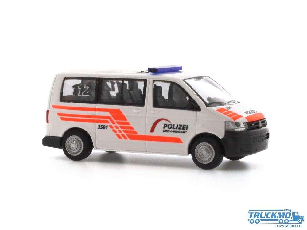 Rietze Polizei Baselland Volkswagen T5 51885