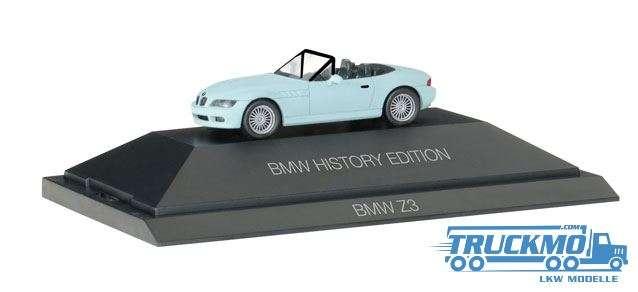 """Herpa BMW Z3 """"BMW History Edition"""" 102032"""