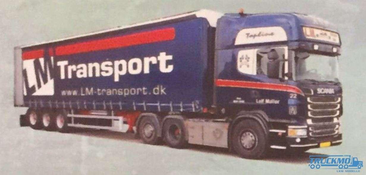 AWM LM Transport Scania R09 Topline Planenauflieger 53625