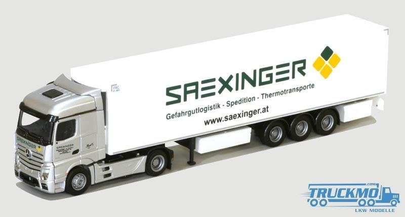AWM Saexinger Mercedes Benz Actros Streamspace Kühlauflieger 75097