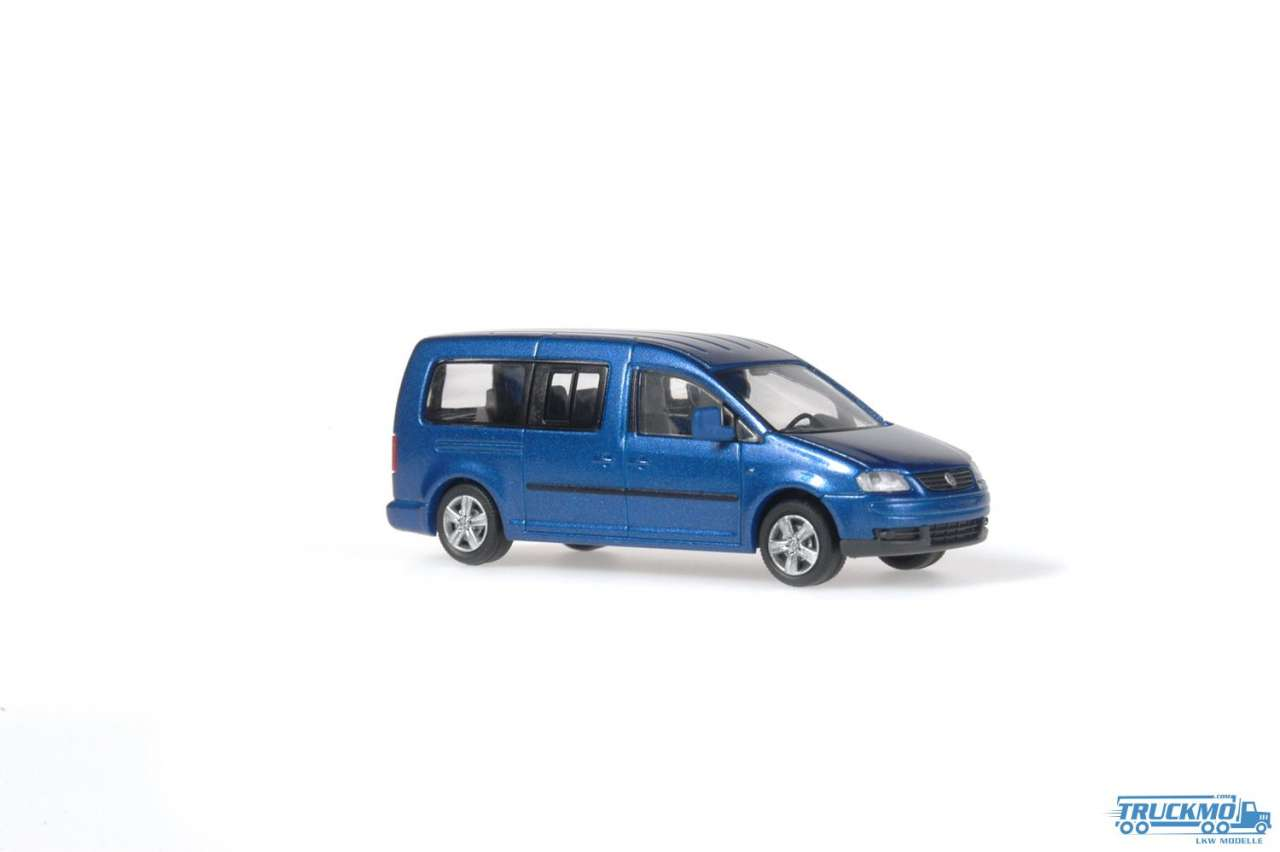 Rietze Volkswagen VW Caddy Maxi Bus 2007 metallic 21700