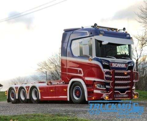 Tekno Kalserads Scania NGS R-Serie Resin Container 75068
