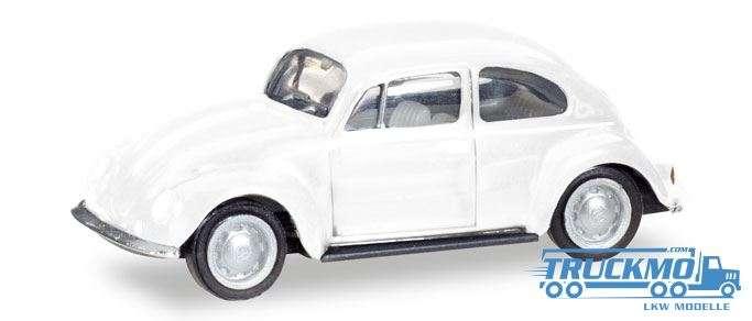 Herpa MiniKit: VW Käfer, weiß 013253