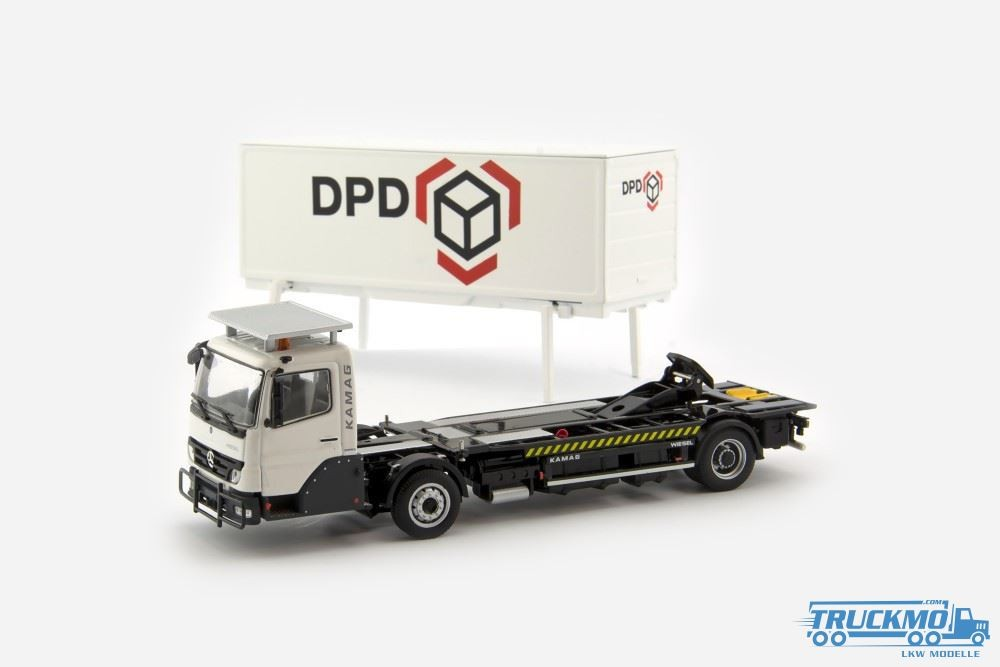 IMC KAMAG Wiesel white + DPD Container LKW Modelle 69285