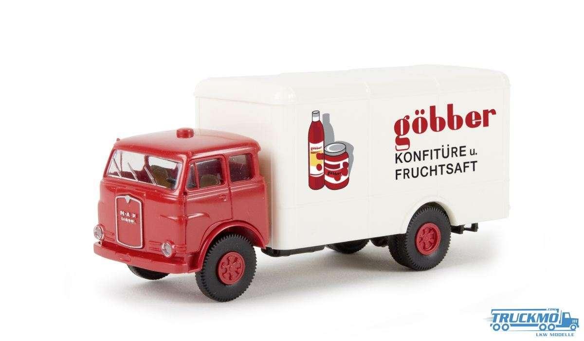 Brekina Modelle Göbber Konfitüre MAN 10.212 F Koffer 78370