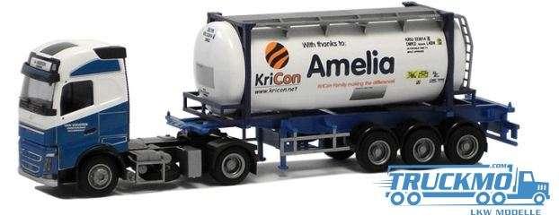 AWM Van Waveren / Kricon Volvo FH04 12 Globetrotter Container-Sattelzu 53743