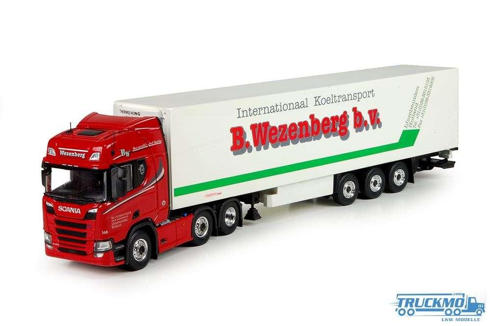 Tekno Wezenberg Scania R500 next Generation Kühlauflieger 71279