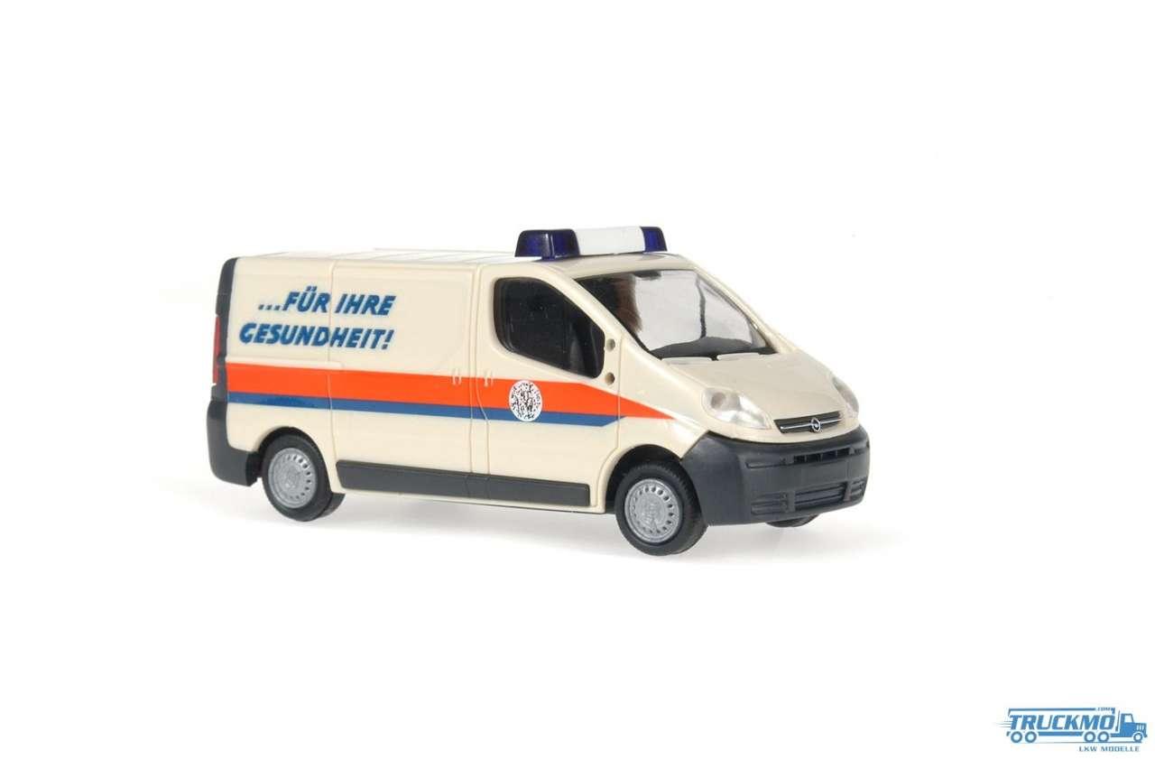 Rietze Labortransport Uniklinik Greifswald Opel Vivaro 51309