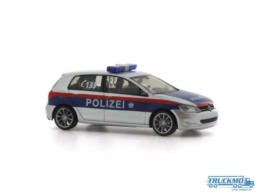 Rietze Polizei Österreich Volkswagen Golf 7 53201