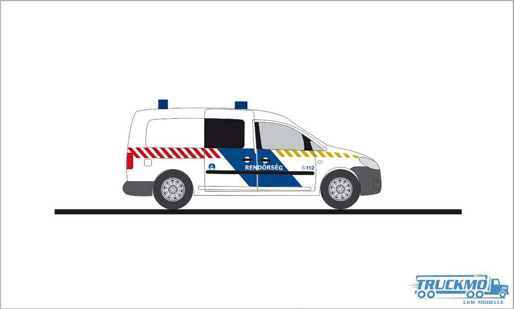 Rietze Rendörseg Volkswagen Caddy Maxi 11 52711