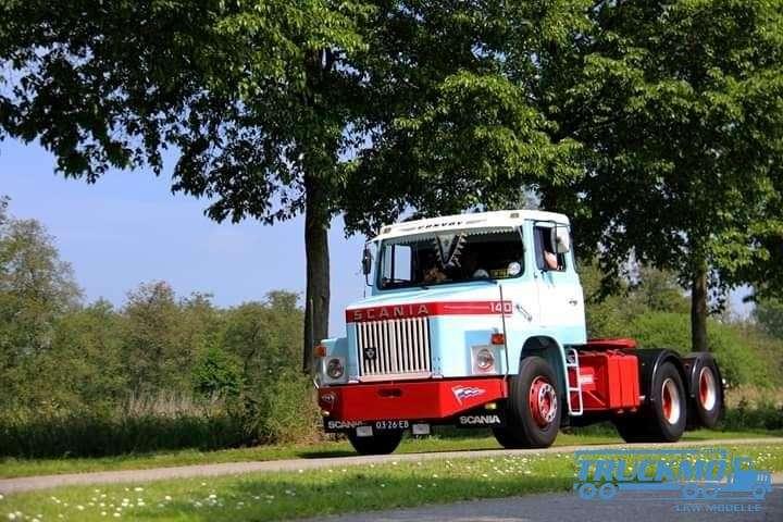 Tekno Marco Donk Scania T140 Hauber 76180