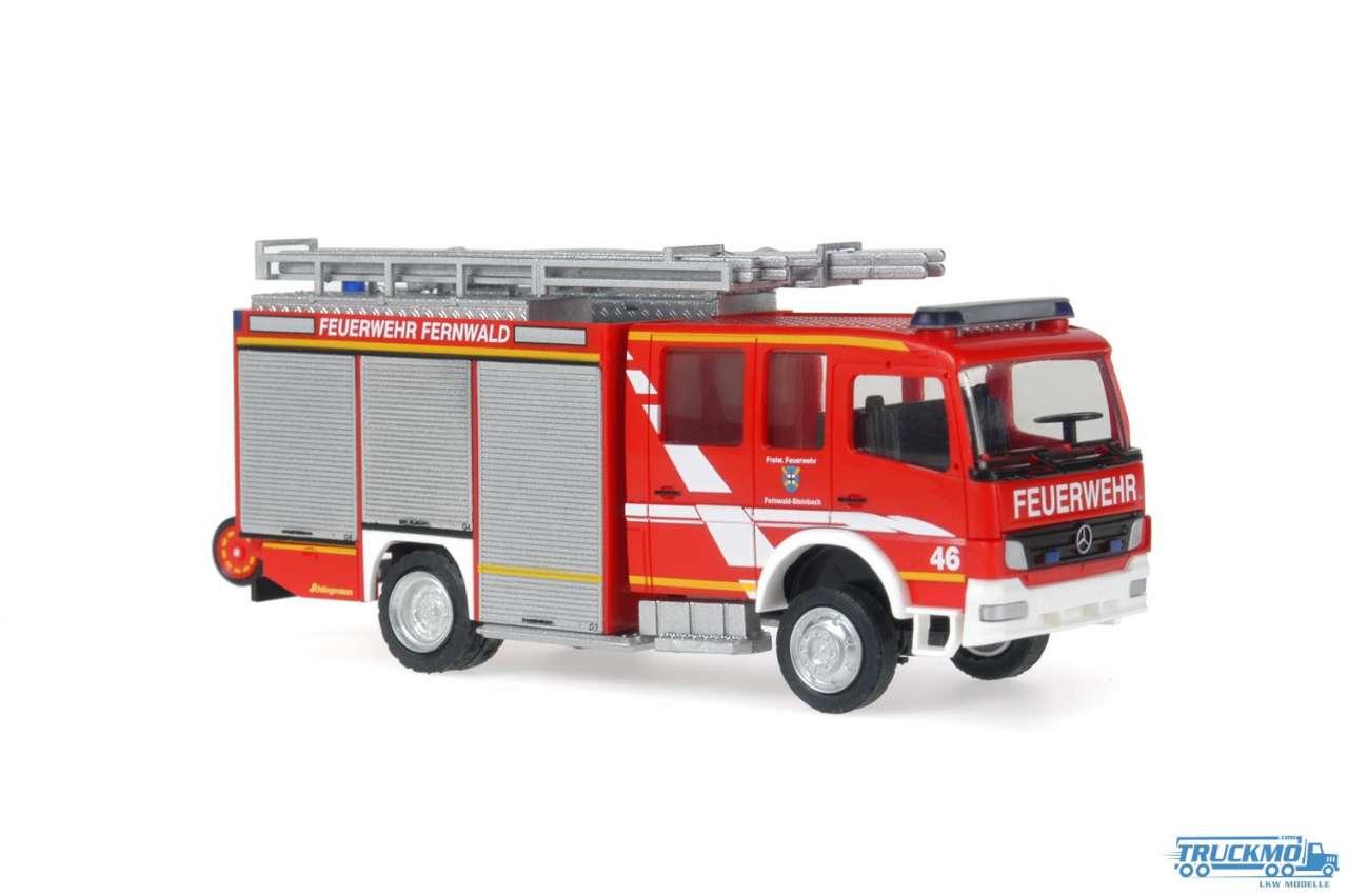 Rietze Feuerwehr Fernwald Mercedes Benz Atego HLF 20/16 Schlingmann 68200