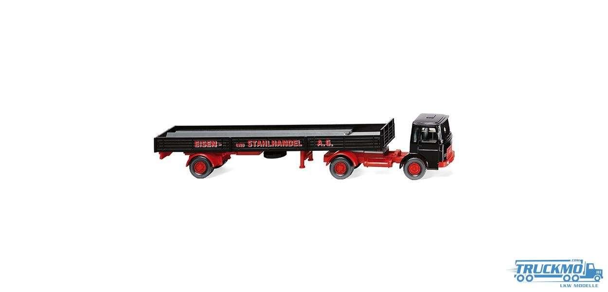 Wiking Eisen- und Stahlhandel AG MAN Pritschensattelzug 048803