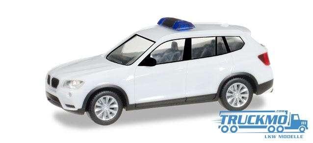 Herpa MiniKit: BMW X3, weiß / unbedruckt 013130