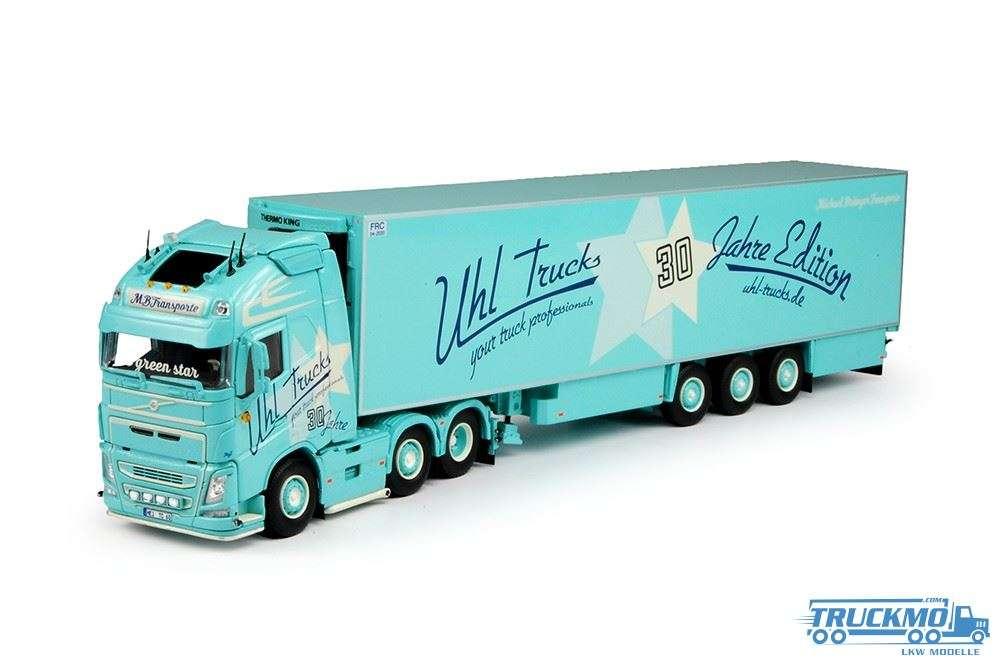 Tekno Uhl Trucks Volvo FH GL XL Kühlkoffer-Sattelzug LKW-Modelle 69533