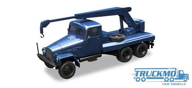 Herpa IFA G5 Kranfahrzeug, blau 308106