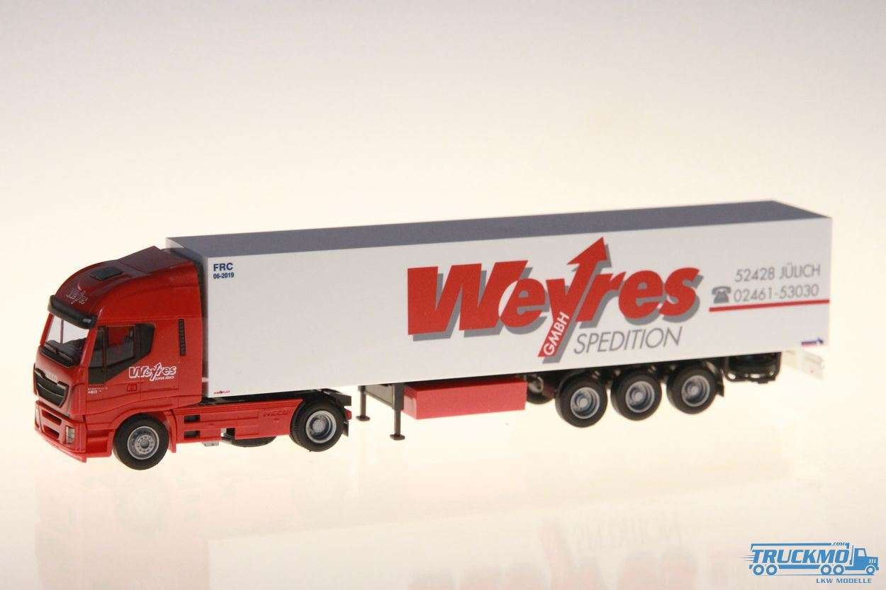 AWM Weyres Iveco Stralis HiWay / Aerop. - Koffer-SZ