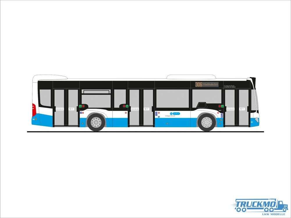 Rietze Limmattal Bus Mercedes Benz Citaro´15 73449