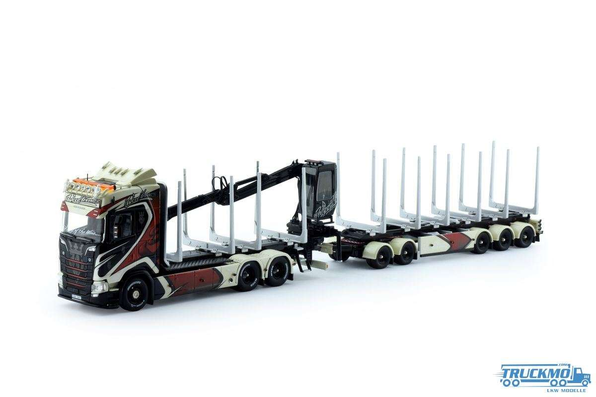 Tekno Woodtrans Scania Next Gen S-Serie Highline Holztransporter 74731