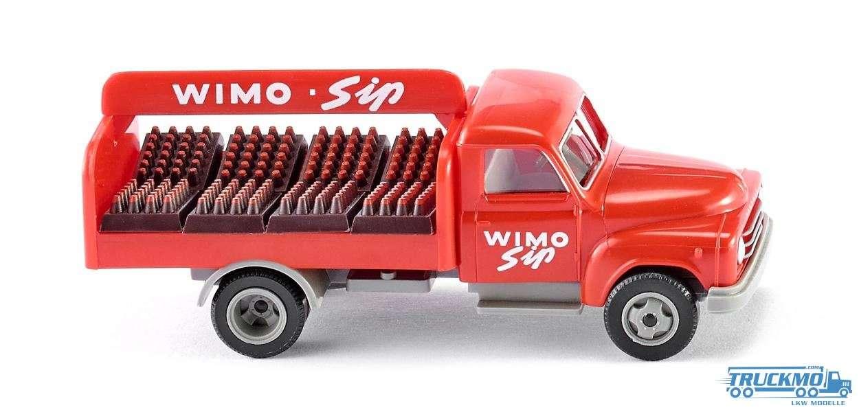 Wiking WIMO Sip Hanomag Diesel L28 Getränke-Lkw 034502