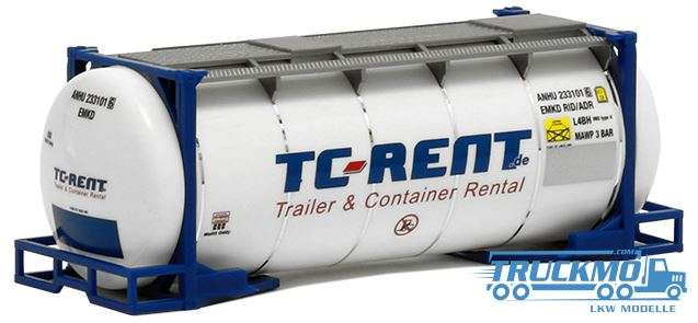 Herpa TC Rent Tankcontainer 24 ft 491106