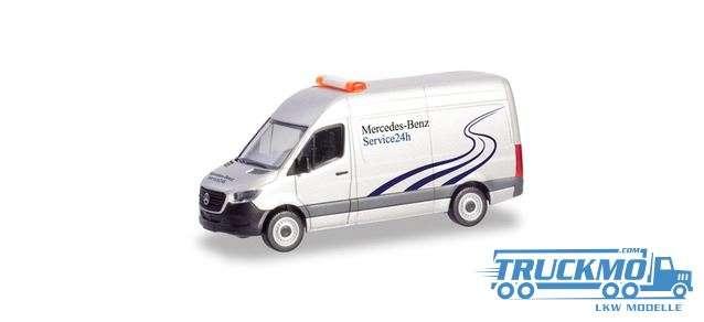 Herpa Mercedes-Benz 24h Service Mercedes-Benz Sprinter `18 box truck 094948