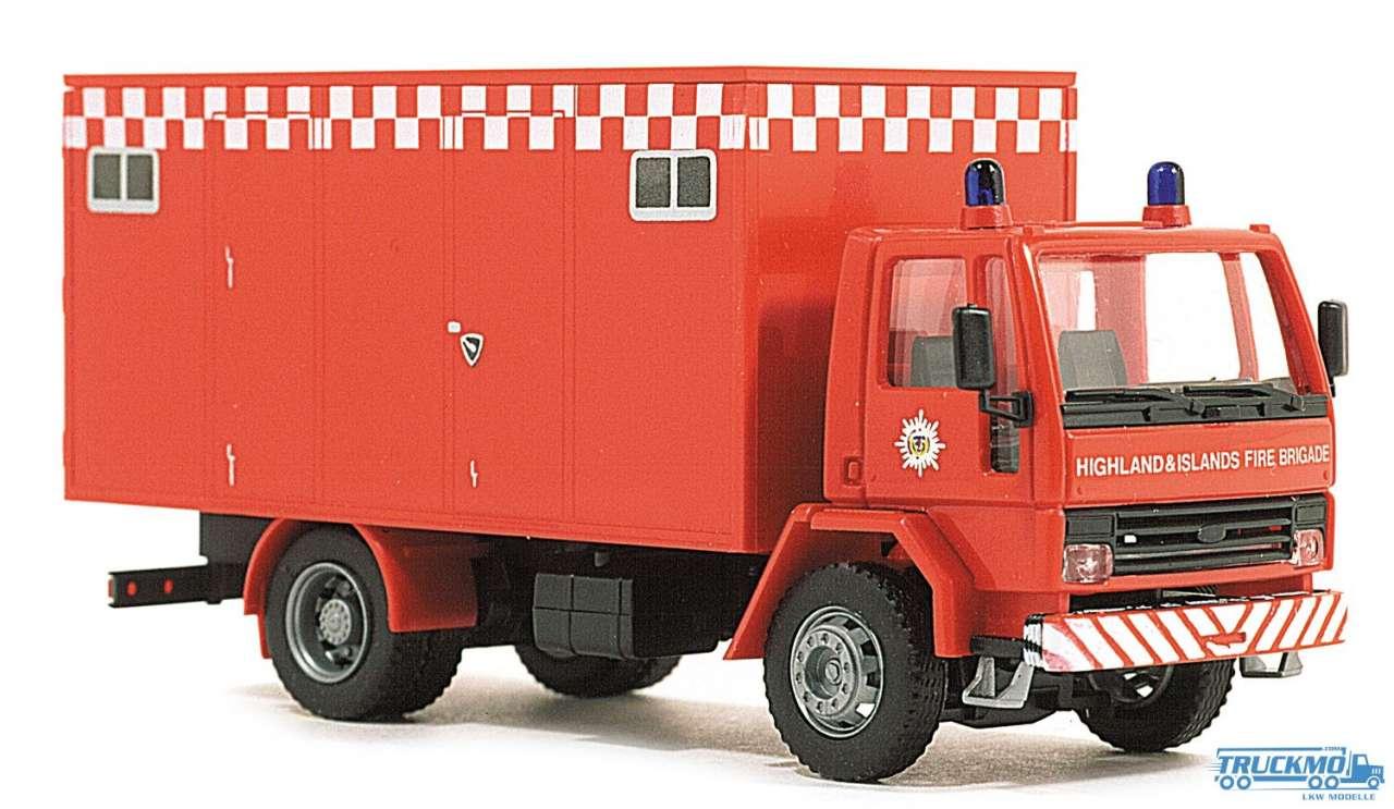 Rietze Fire Brigade England Ford Cargo Kofferaufbau 60106