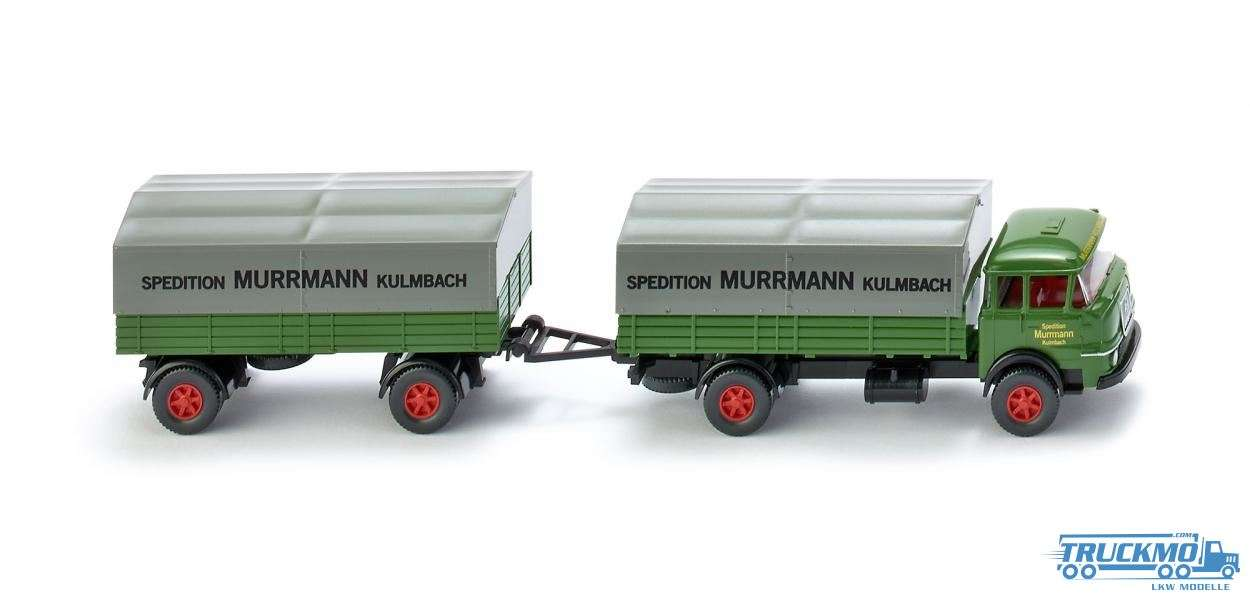 Wiking Spedition Murrmann Kulmbach Krupp 806 Pritschenlastzug 048601