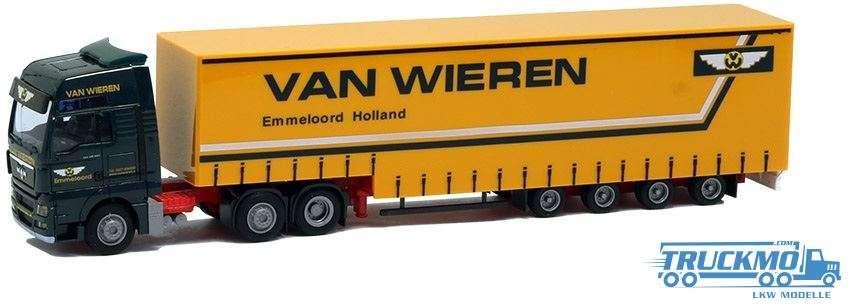 AWM Van Wieren MAN TGX XXL Jumbo-Planenauflieger 8082.81