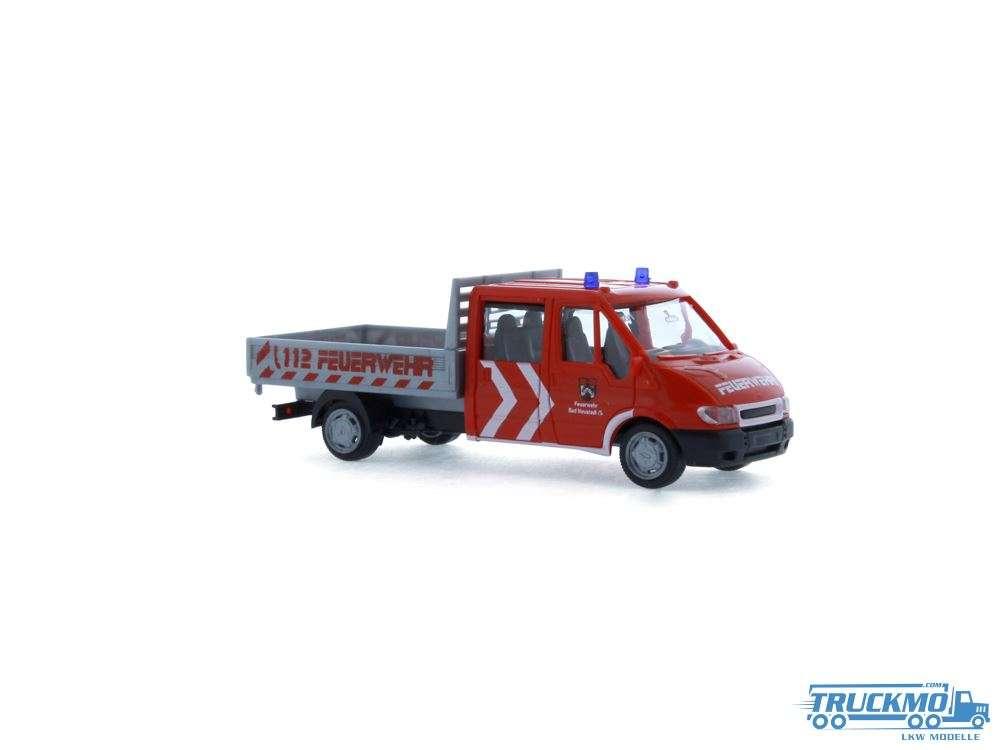Rietze FW Bad Neustadt /S Ford Transit Doka Pritsche 31139