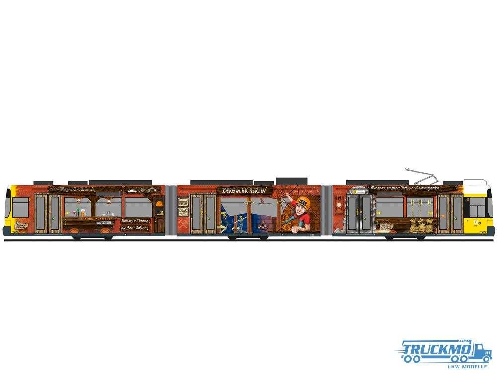 Rietze BVG Bergwerk Adtranz GT6 Straßenbahn STRA01006