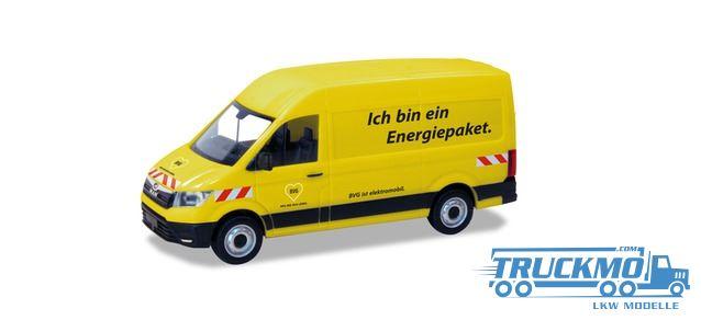 Herpa BVG MAN ETGE Kasten HD 094573