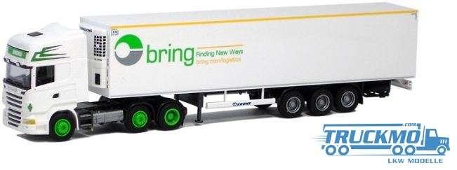 AWM Bring Jongeneel Scania 09 Topline Aerop Kühlkoffersattelzug LKW Modelle