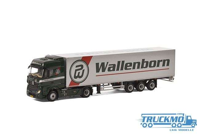 WSI Wallenborn Mercedes Benz Actros Big Space Kofferauflieger 01-2133