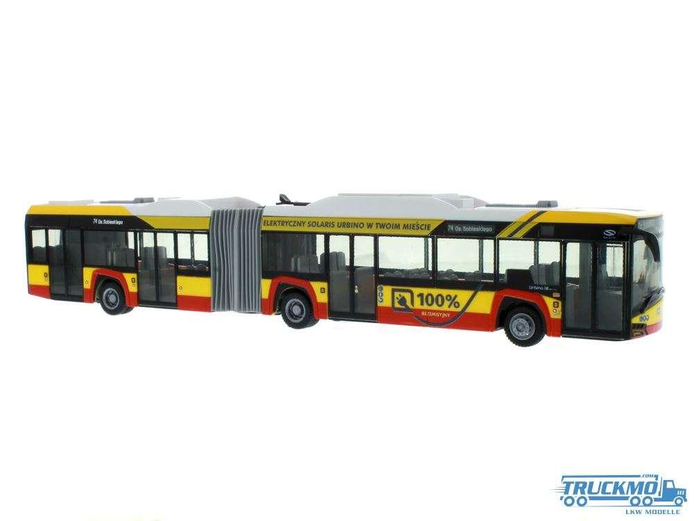 Rietze Warszawa Solaris Urbino 18 17 electric 73123