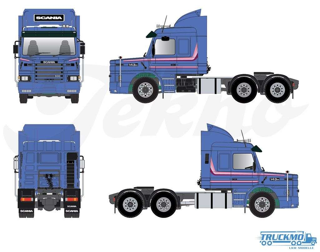 Tekno Scania 3er Serie Torpedo Topline RHD 75098