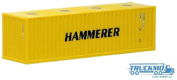 AWM Hammerer 30ft. Container mit Domdeckeln 491300