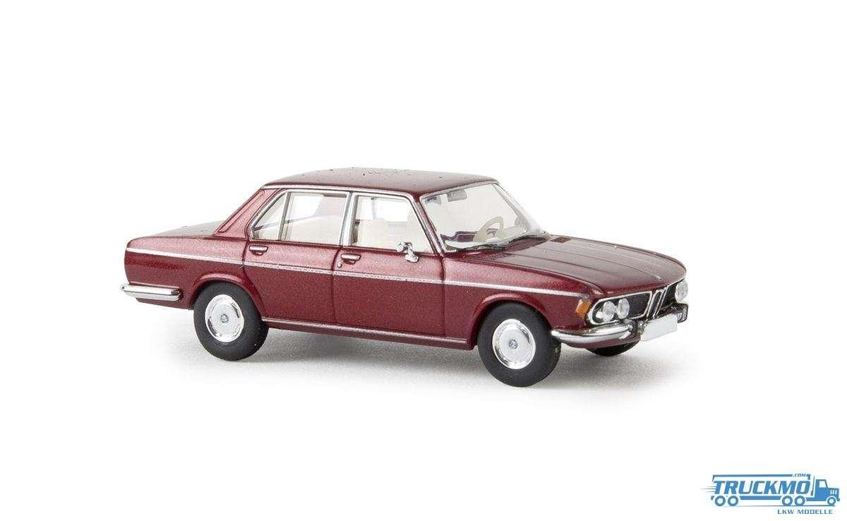 Brekina BMW 3.0 Si rubinrot metallic von Starmada 13606