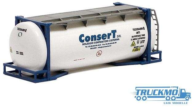 AWM Consert 20ft. van-Hool Tankcontainer überlang 491178