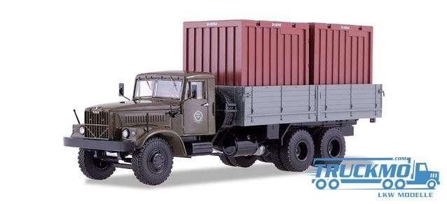 Start Scale Models KRAZ-257B1 mit Container 83SSM1149