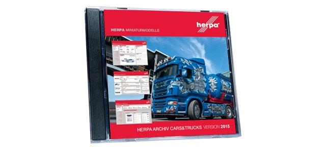 Herpa Modellarchiv CARS & TRUCKS 1978-2013 als DVD