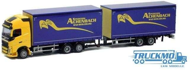 AWM Achenbach Volvo FH12 XL Jumbo-Hängerzug Lkw-Modell 75250