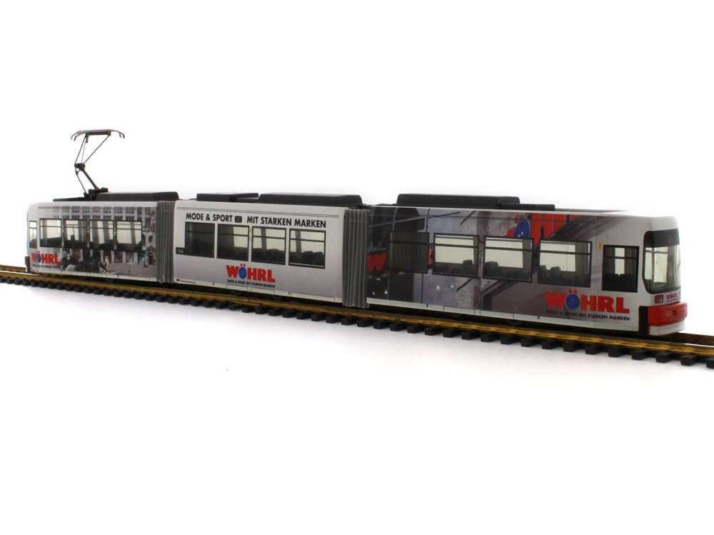 Rietze VAG-Wöhrl Markenkleidung Adtranz GT6N STRA01003