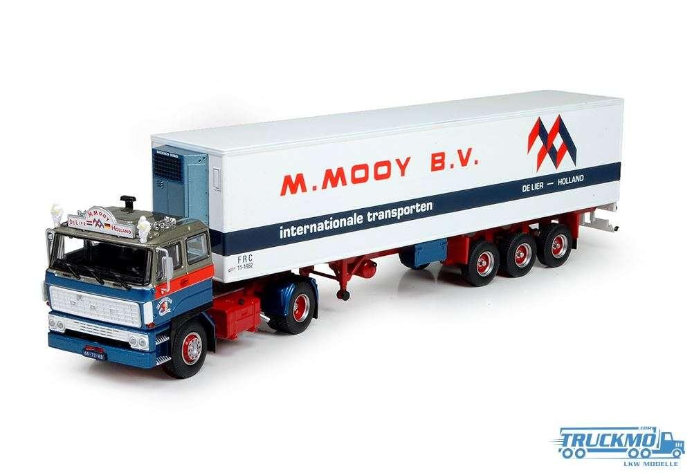 Tekno Mooy DAF 2800 4x2 SC mit 3 Achs klassik Kühlauflieger 72111