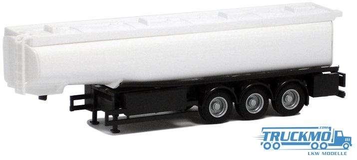 AWM Tankauflieger 3-Achs weiß 660205