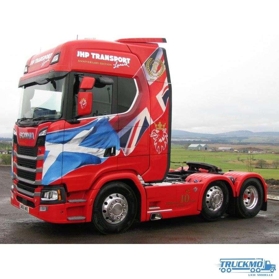 WSI JHP Transport (UK) Scana S 580 6x2 Kühlauflieger 3-Achs