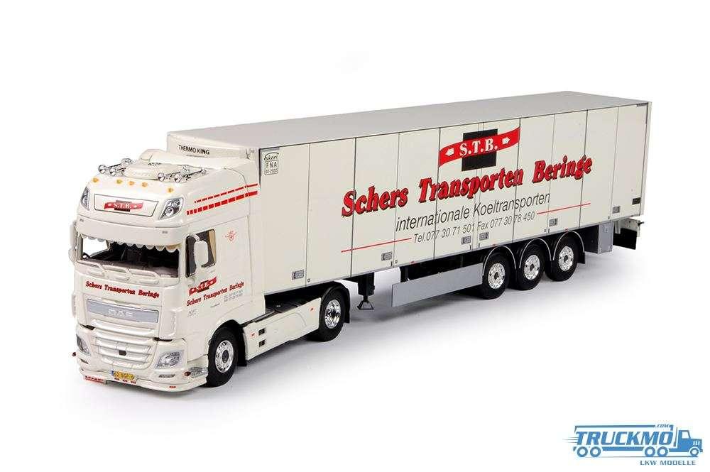 Tekno Schers Transporten DAF Euro 6 XF Super Space Cab mit Kühlauflieger 70073