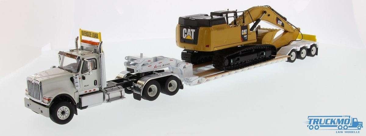 Diecast Masters CAT International HX520 Tieflader CAT 349F L XE Bagger 85600
